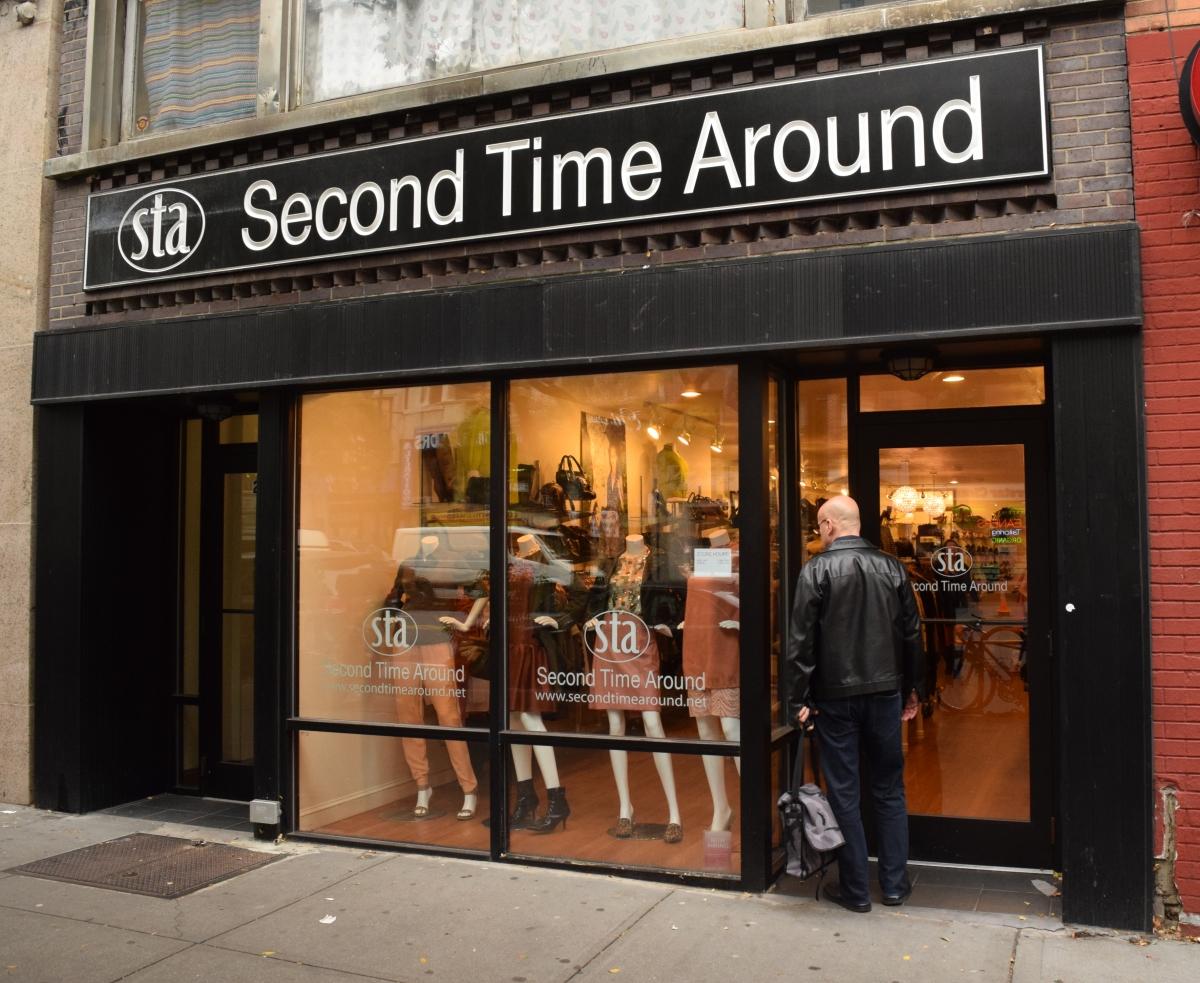 חנות יד שניה ברחוב 72