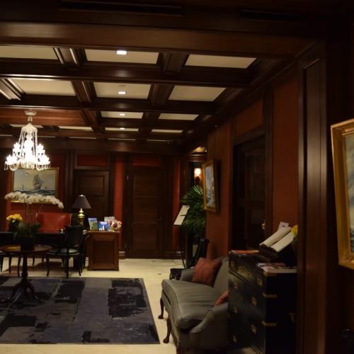 הלובי במלון פיצפטריק מנהטן ניו יורק
