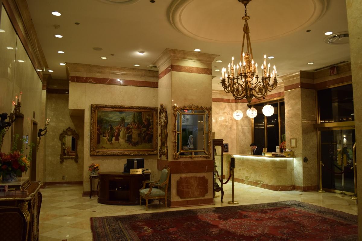 הכניסה והקבלה של מלון קימברלי מנהטן ניו יורק