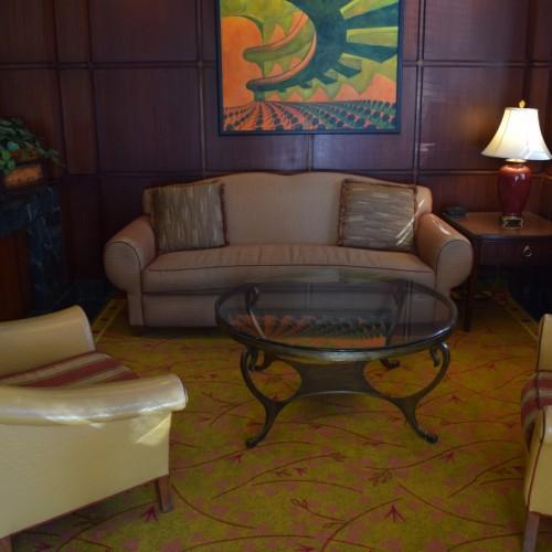 הלובי במלון סקייליין