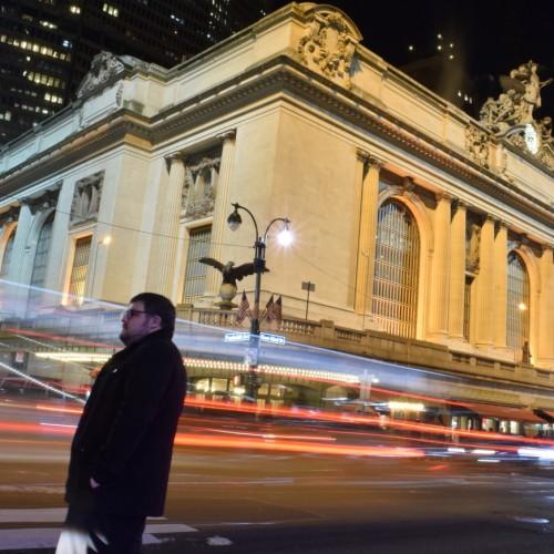 צילום עם חשיפה ארוכה (גרנד סנטרל ניו יורק)