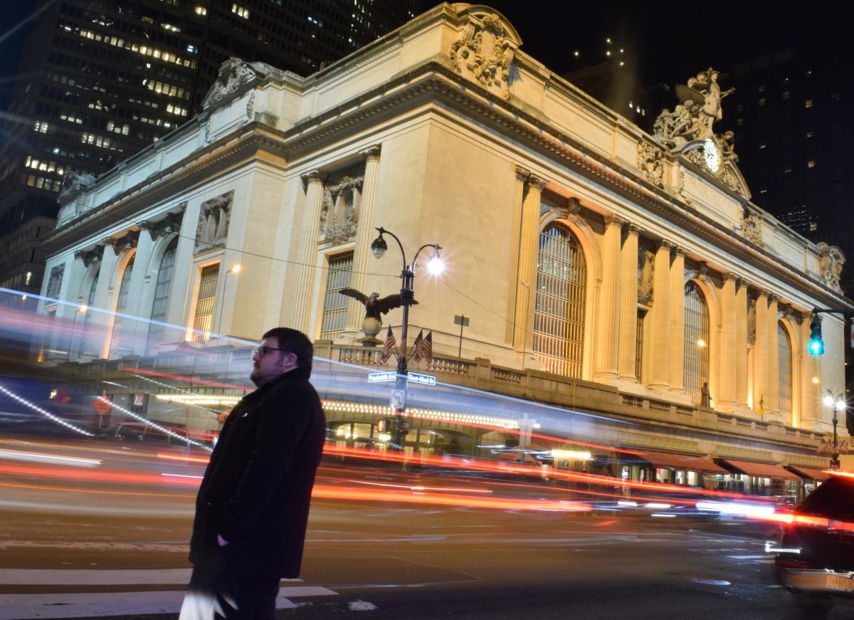 גרנד סנטרל צילום עם חשיפה ארוכה (גרנד סנטרל ניו יורק)