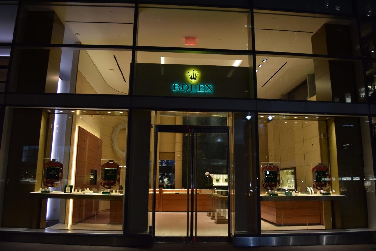 חנות רולקס ניו יורק