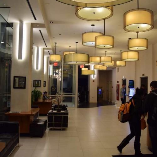 הלובי והכניסה מלון ווינדהאם צ'יינה טאון ניו יורק