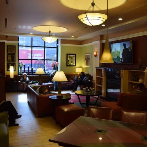 לובי מלון The Hotel At Times Square