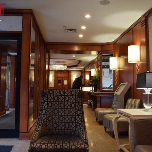 לובי מלון וושינגטון ג'פרסון Washington Jefferson