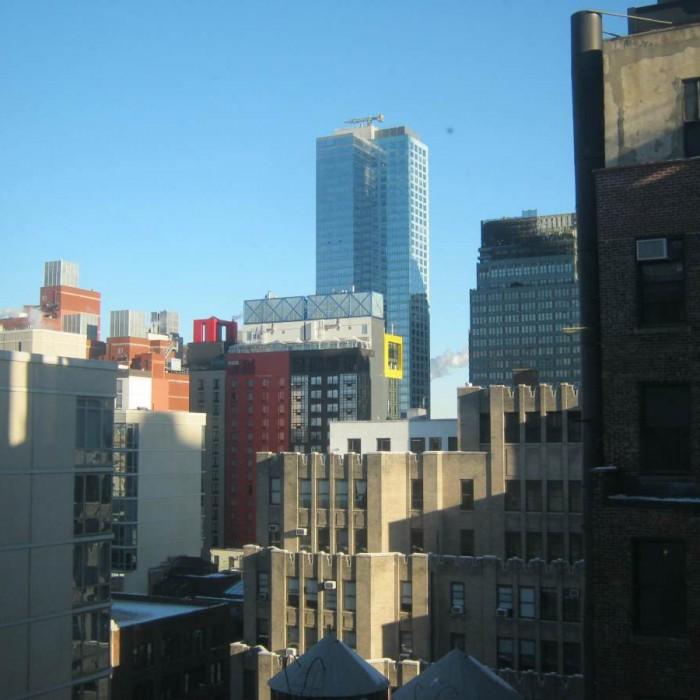 הנוף מהחדר שלי מלון קורטיארד מידטאון ווסט ניו יורק