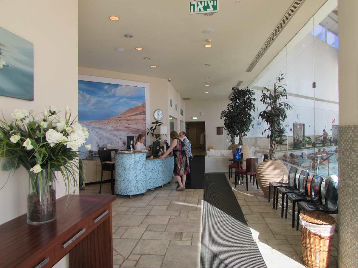 הקבלה ספא מלון קראון פלאזה ים המלח
