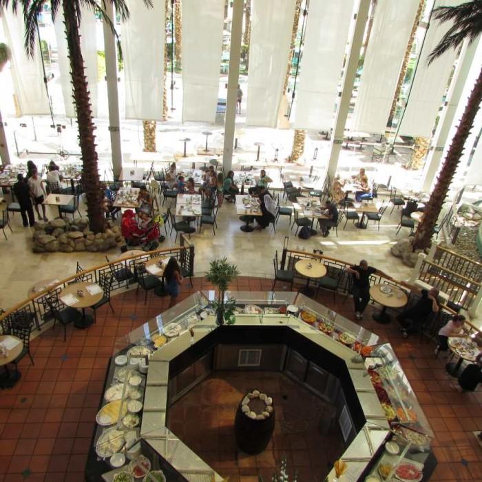 חדר האוכל מלון דיוויד ים המלח