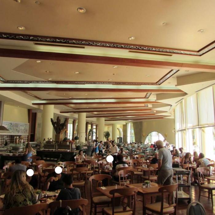 חדר ארוחת הבוקר מלון דניאל ים המלח