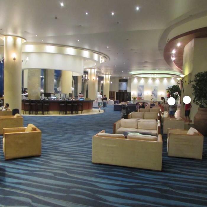 הלובי מלון דניאל ים המלח