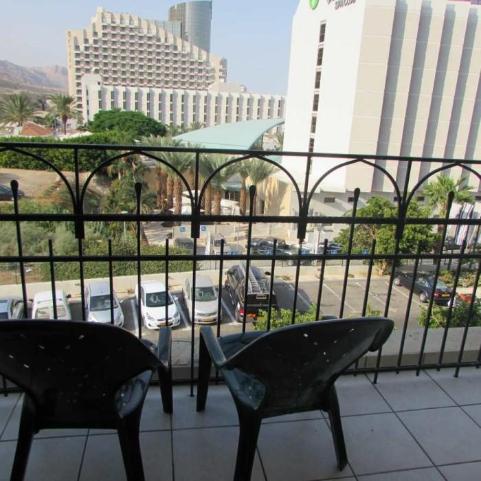 הנוף מהחדר מלון דניאל ים המלח
