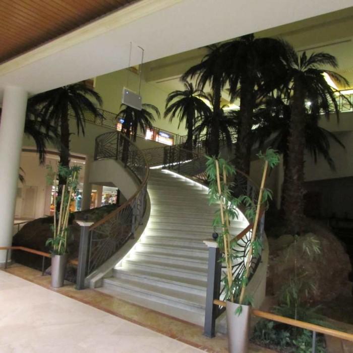 מדריגות מקומת האוכל לקומת הכניסה מלון דיוויד ים המלח