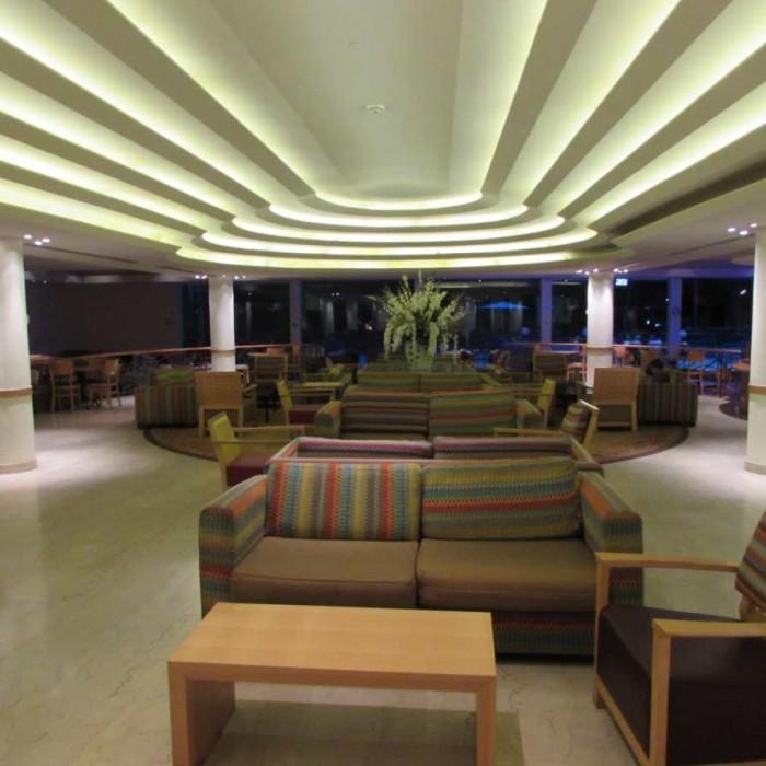 לובי מלון דיוויד ים המלח