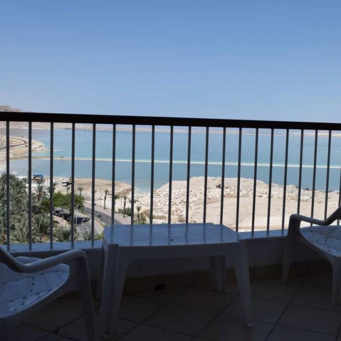 הנוף מהחדר מלון דיוויד ים המלח