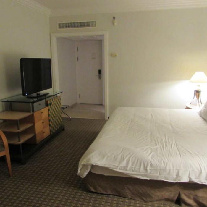החדר בלילה מלון דיוויד ים המלח