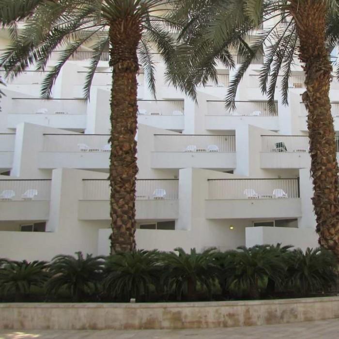 חדרי גן מלון דיוויד ים המלח
