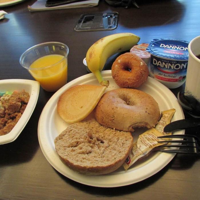ארוחת בוקר מלון אלמנט ניו יורק