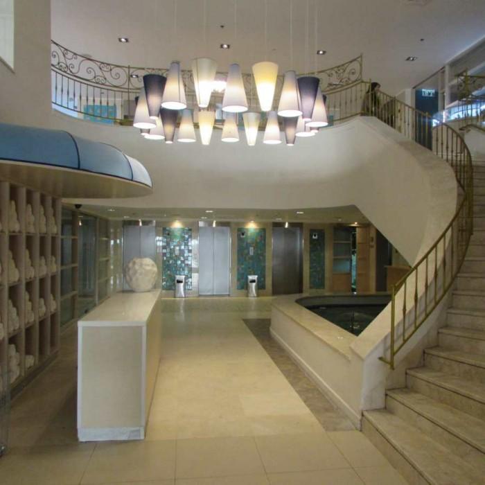 מתחם הלובי מלון הרודס ים המלח