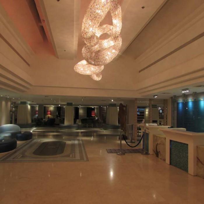 הכניסה למלון הרודס ים המלח