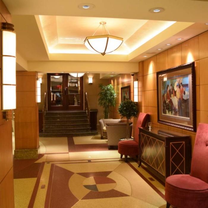 ההמשך של הלובי מלון בלוודר ניו יורק