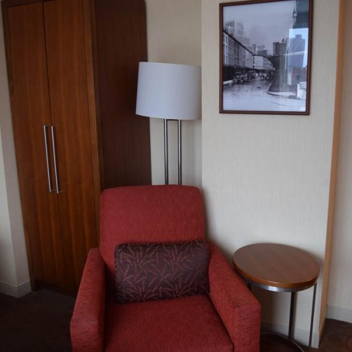 כורסא מלון שרתון טרבייקה ניו יורק