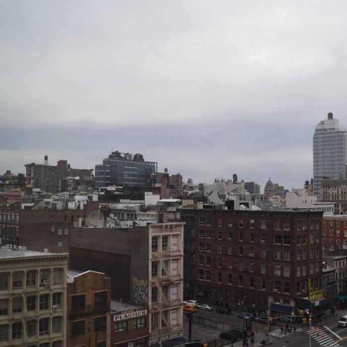 הנוף מהחדר מלון שרתון טרבייקה ניו יורק