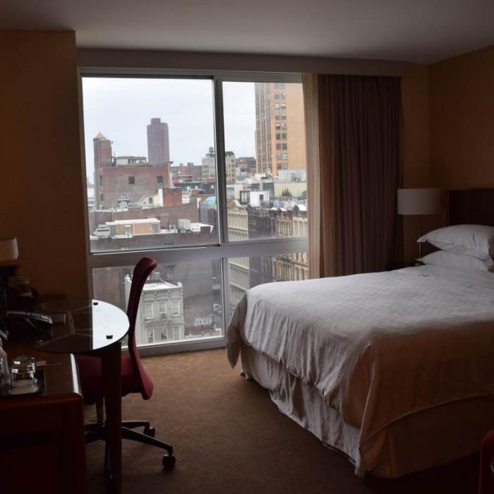 החדר מלון שרתון טרבייקה ניו יורק