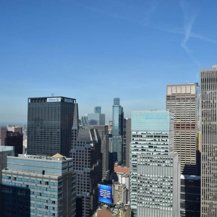 הנוף מהחדר הייאט טיימס סקוור ניו יורק