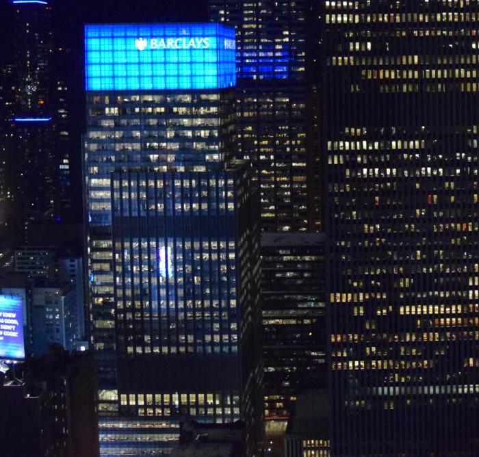 הנוף מהחדר בלילה הייאט טיימס סקוור ניו יורק