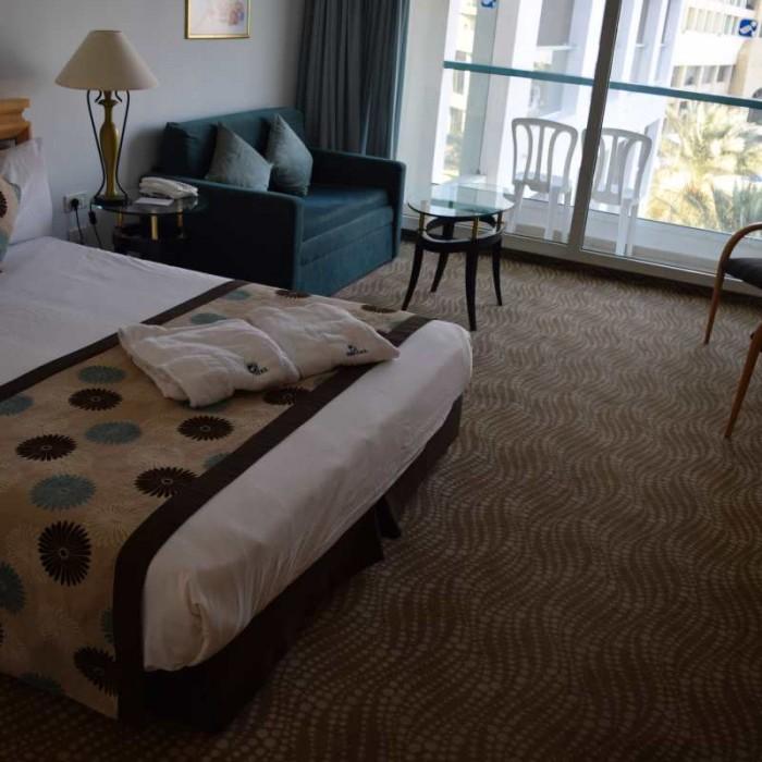 החדר מלון ישרוטל ים המלח