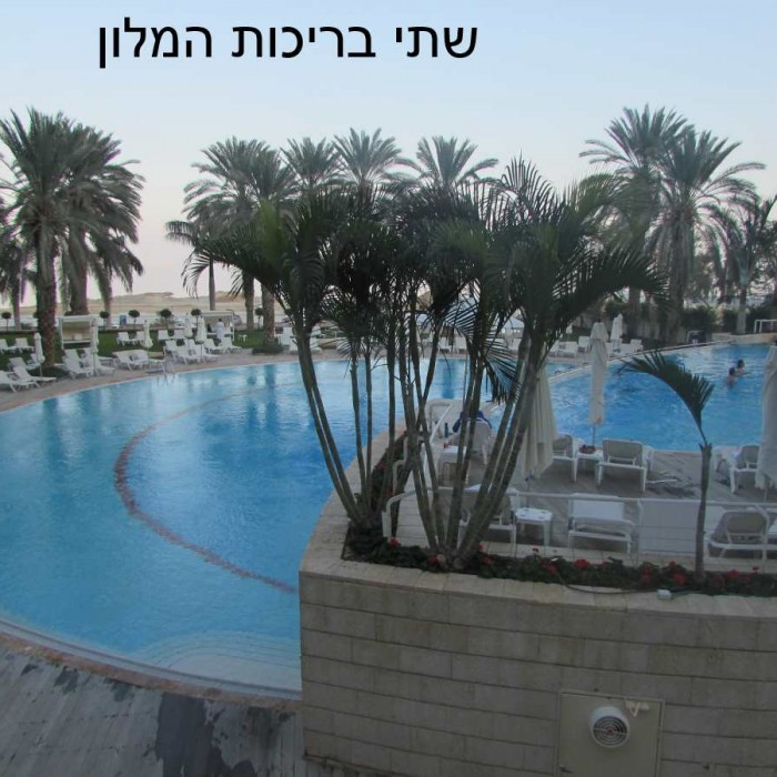 הבריכה מלון ישרוטל ים המלח