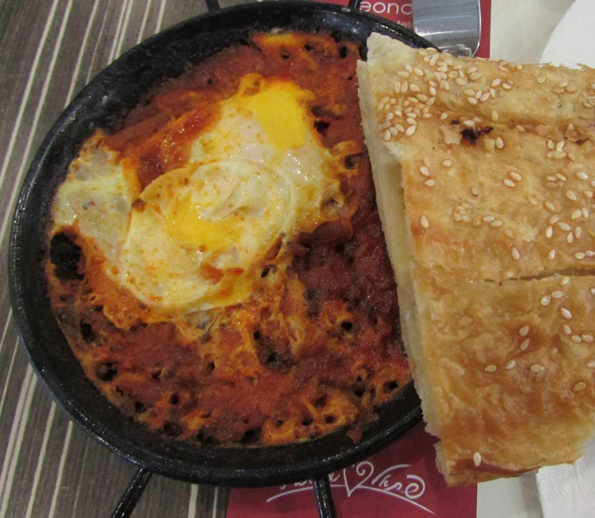 שקשוקה ארוחת בוקר מלון לאונרדו קלאב ים המלח