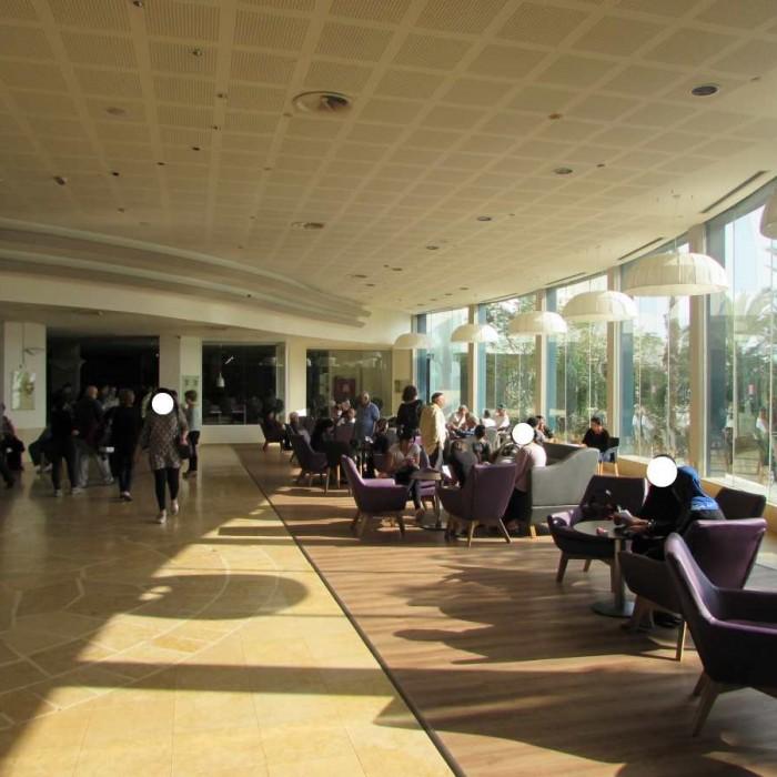 הלובי מלון לאונרדו קלאב ים המלח
