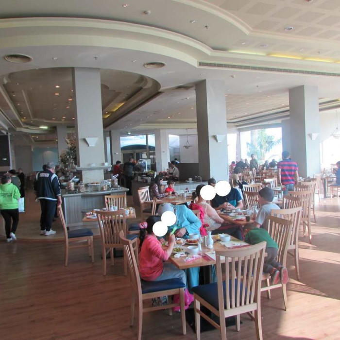 חדר האוכל מלון לאונרדו פריוילג' ים המלח
