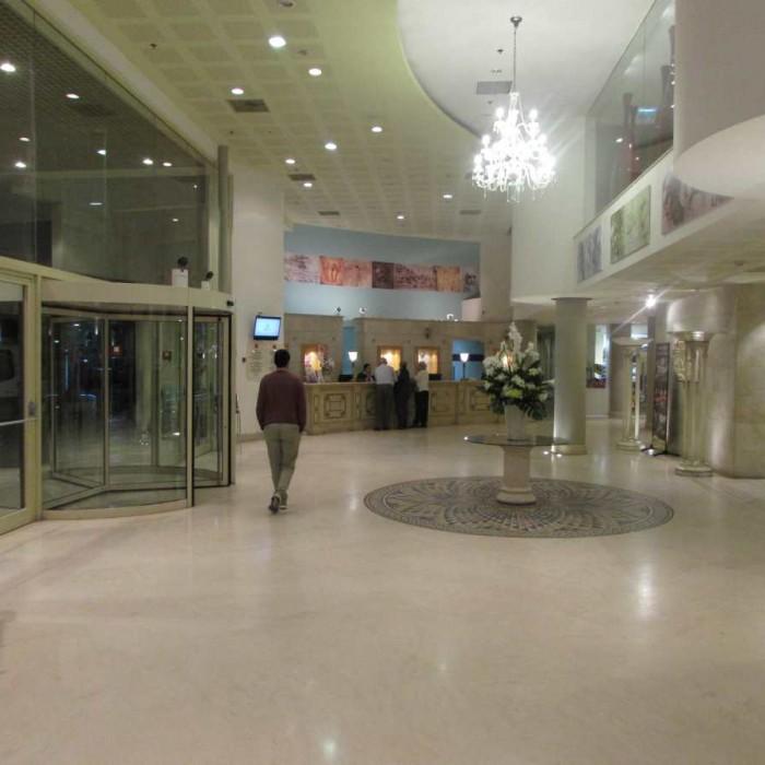 הכניסה למלון מלון לאונרדו פריוילג' ים המלח