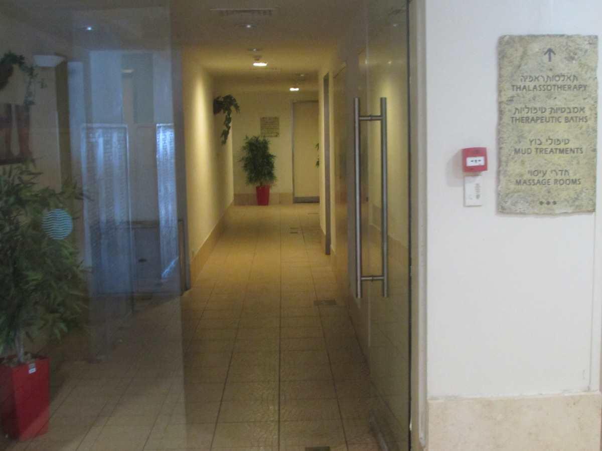 מתחם חדרי הטיפולים ספא מלון לאונרדו פריויליג' ים המלח