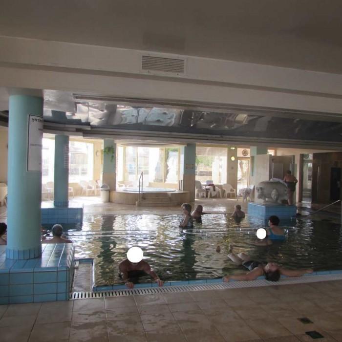 מתחם הספא מלון לאונרדו פריוילג' ים המלח