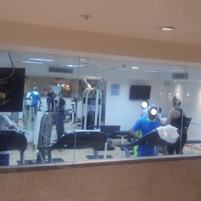 חדר כושר מלון מג'יק פאלאס אילת