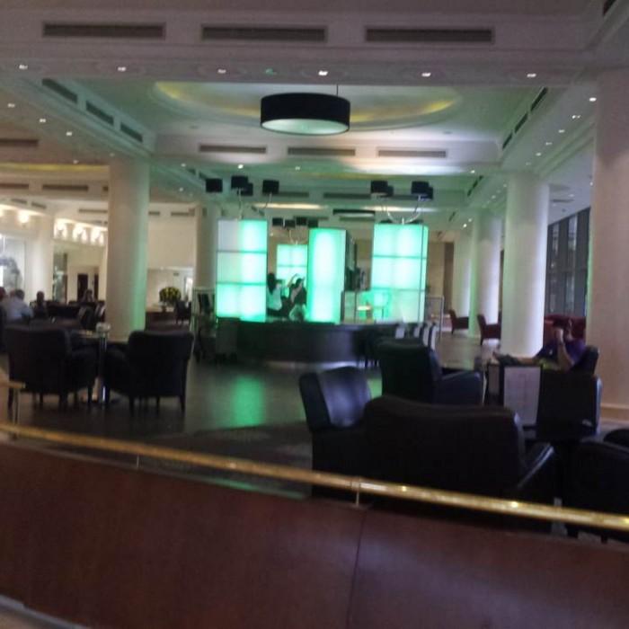 הלובי מלון מג'יק פאלאס אילת