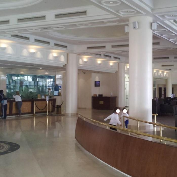 הקבלה והלובי מלון מג'יק פאלאס אילת