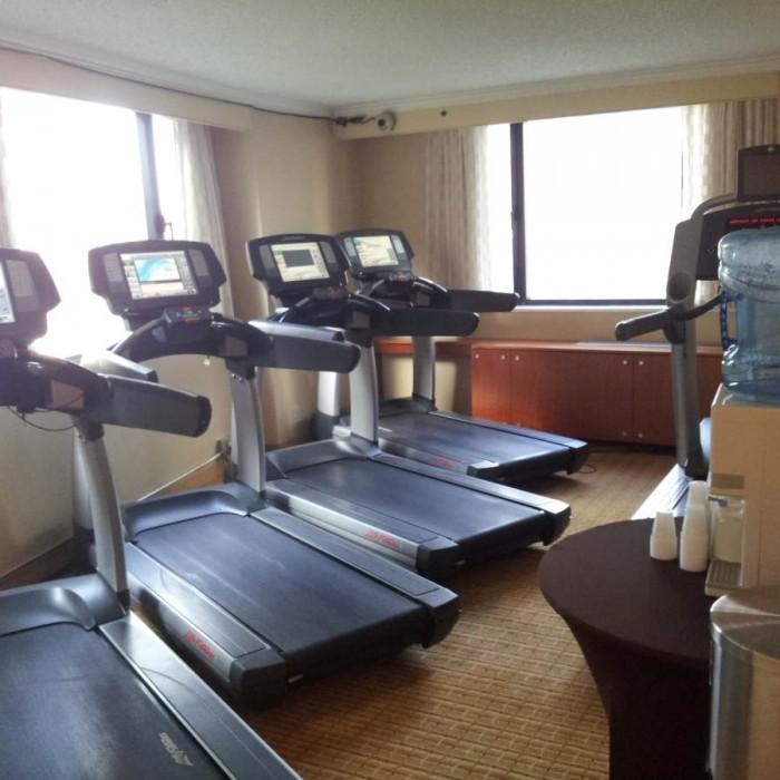 חדר כושר מלון מריוט דאונטאון ניו יורק