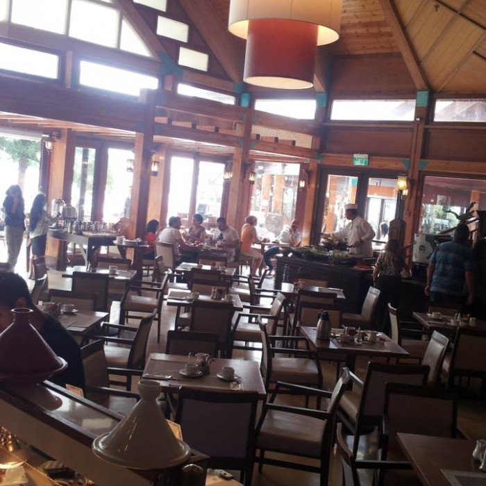 חדר האוכל מלון אורכידאה אילת
