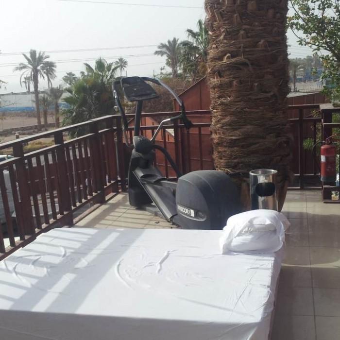 חדר כושר פונה לים מלון אורכידאה אילת