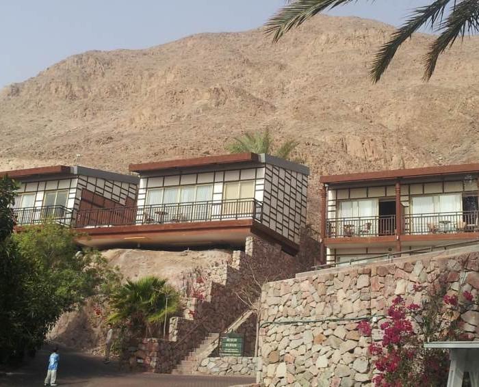 החדרים על צלע הר מלון אורכידאה אילת