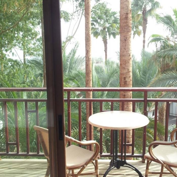 הנוף מהחדר מלון אורכידאה אילת