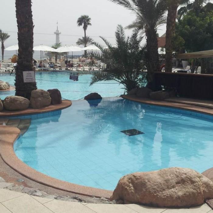 הבריכה מלון אורכידאה אילת