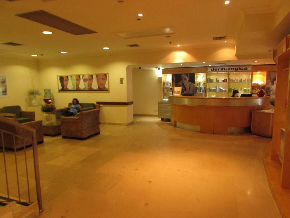 הקבלה של הספא מלון רויאל רימונים ים המלח