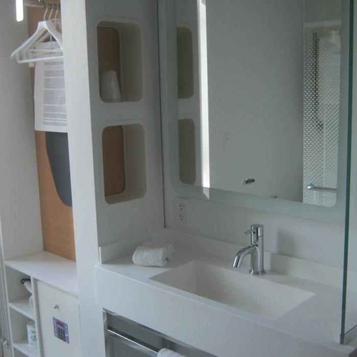חדר האמבטיה מלון יוטל ניו יורק