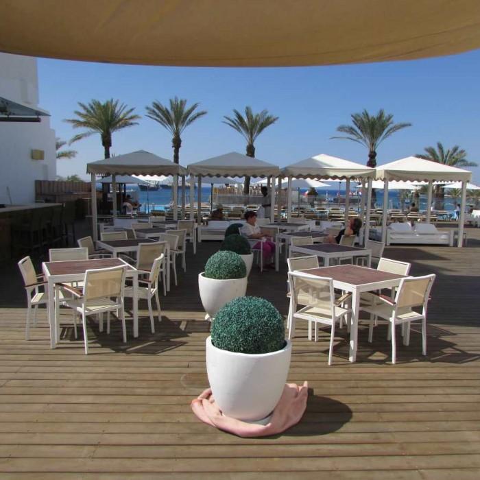מבט כללי על הבריכה מלון אסטרל סי סייד אילת